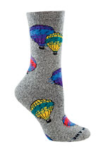 Plush Hot Air Balloon Socks