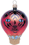 Tiger Hot Air Balloon Ornament