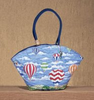 Up & Away Watercolor Tote Bag