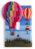 Hot Air Balloon Dimensional Switch Cover