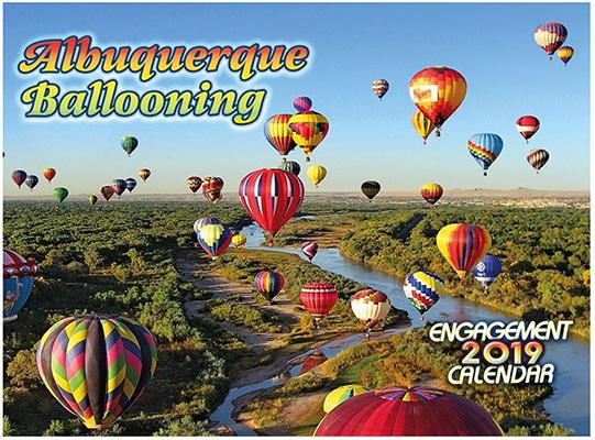 2019 Hot Air Balloon Calendar