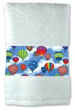 Hot Air Balloon Bath Towels