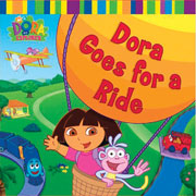 Dora goes for a Ride, Board Book