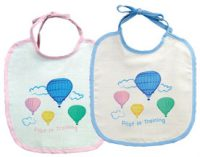 Pilot in Training Baby Bibs