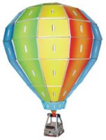 3 D Wooden Hot Air Balloon Model Kit