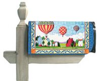 Heritage Balloons Mail Box Wrap