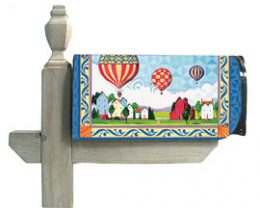 Hot Air Balloon Mail Box Wrap