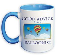 Good Advice… Hot Air Balloon Coffee Mug