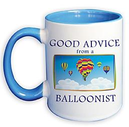 Hot Air Balloon Coffee Cup