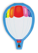 Hot Air Balloon Note Pad