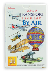 Air Transportation Playing Card Deck