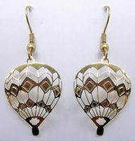 Lighter Than Air Hot Air Balloon Earrings