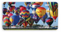 Mass Ascension Hot Air Balloon Car Tag License Plate