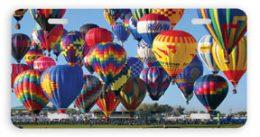 Mass Ascension Hot Air Balloon Car Tag License Plate