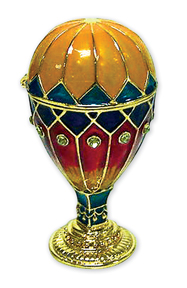 Hot Air Balloon Trinket Box