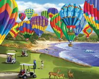 Soaring Colors Hot Air Balloon Puzzle