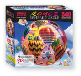 Spherical Hot Air Balloon Puzzle
