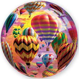Sunrise Flight 3D Sphere Hot Air Balloon Puzzle