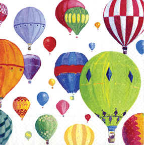 Paper Balloon Cocktail Napkins