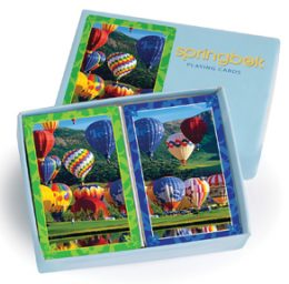 Hot Air Balloon Playing Card Deck