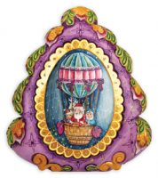 Hot Air Balloon Ride Keepsake Box