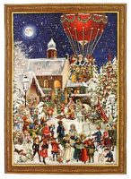 Victorian Hot Air Balloon Advent Calendar