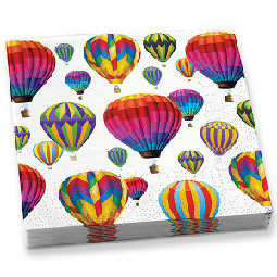 Hot Air Balloon Paper Napkins