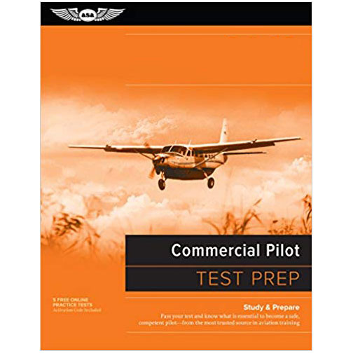 Commercial Pilot Written Test Prep Study Book