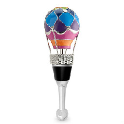 3-D Hot Air Balloon Wine Bottle Stopper