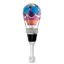 3-D Hot Air Balloon Wine Bottle Stopper