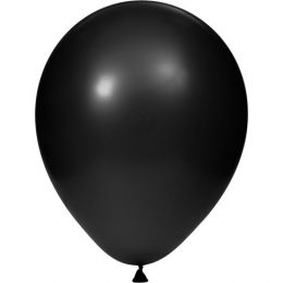Black Latex Balloon, Pi-Bals
