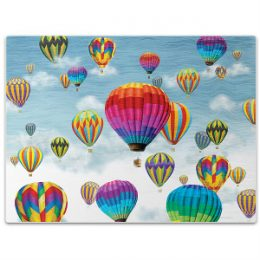 Hot Air Balloons In Flight Glass Cutting Board