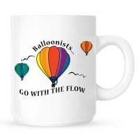 Go With The Flow Hot Air Balloon Coffee Mug