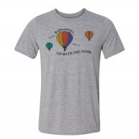 Go With The Flow Hot Air Balloon T-Shirt