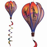 Kokopelli Hot Air Balloon Spinner