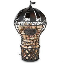 Hot Air Balloon Wine Cork Cage