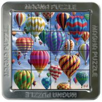 Magnetic 3-D Hot Air Balloon Travel Puzzle
