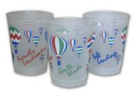 Plastic Hot Air Balloon Flight Cups