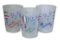 Plastic Hot Air Balloon Flight Cups