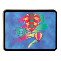 Hot Air Balloon Color Splash Hitch Hider