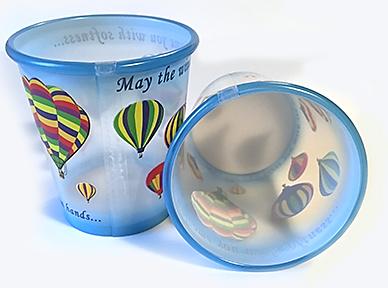 Hot Air Balloon Cups