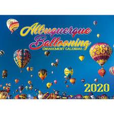 2020 Hot Air Ballooning Calendar