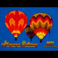 2021 Hot Air Balloon Calendar